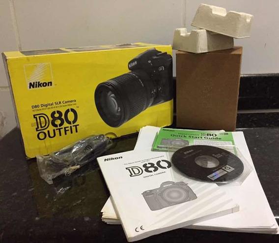 Caixa Nikon D80