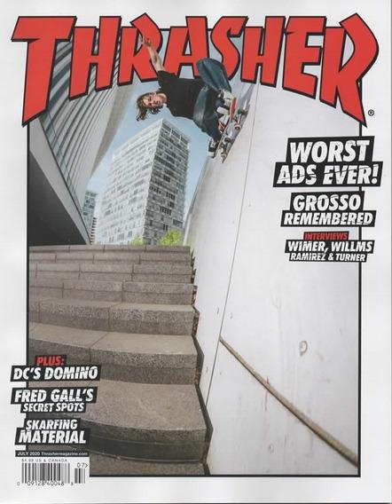 Thrasher Us - Assinatura 6 Revistas Impressas