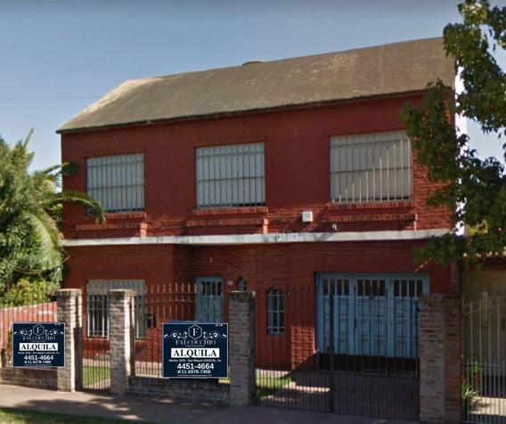 Casa En Alquiler 4 Ambientes 2 Plantas Cochera Cubierta Jardín 10x15 San Miguel