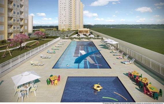 Apartamento 48m² Condomínio Máximo Vila Mogilar Em Mogi Da Cruzes/sp - Ap5448