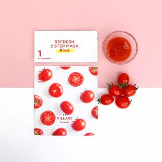 11 Village Factory - Red Sheet Mask