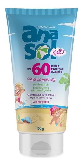Anasol Protetor Solar Kids Fps 60 150 G