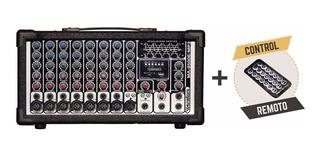 Wenstone Ma-8500e Mp3 - Mixer / Consola Potenciada 500w