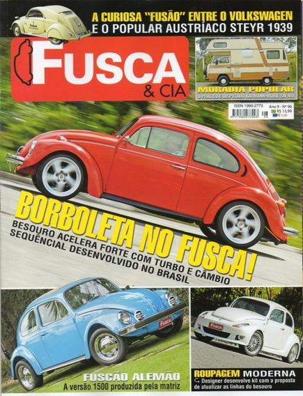Fusca & Cia Nº96 Kombi Karmann Mobil Safari Vw Fuscão Alemão