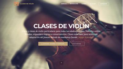 Clases De Violín Online, Profesora Música Popular Y Clásico