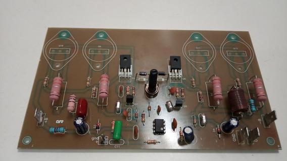 Placa Amplificador 300w Rms Alta Fidelidade Sem As Saídas