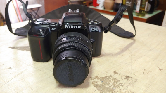 Ccamera Nikom F-601 Com Lente Sigma 35-80mm