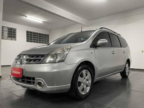 Imagem 1 de 10 de Nissan Grand Livina 1.8 Sl 16v Flex 4p Automático