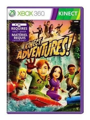 Kinect Adventures Xbox 360 Mídia Física Original