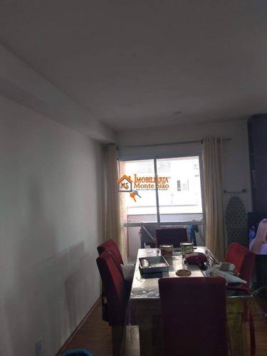 Imagem 1 de 11 de Apartamento Com 3 Dormitórios À Venda, 59 M² Por R$ 318.000,00 - Jardim Imperador - Guarulhos/sp - Ap3491
