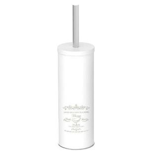 Cepillo O Escobilla Baño Acero Blanco - Garantía