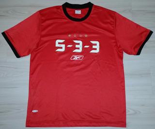 Camisa Comemorativa Do São Paulo F.c. Reebok 5-3-3 Tam. G