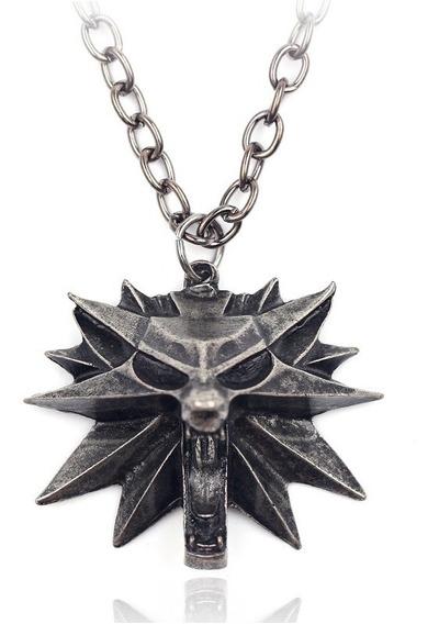 Colar The Witcher Geralt De Rívia Escolha O Modelo Desejado