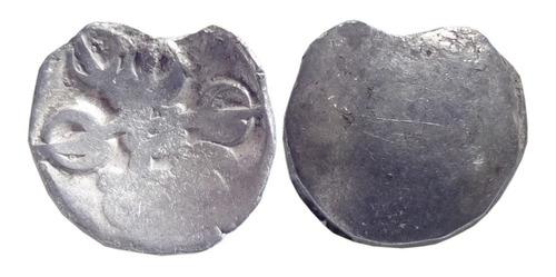 Imagen 1 de 3 de Moneda India Gandhara Janapada (600 - 300 A C.) L152