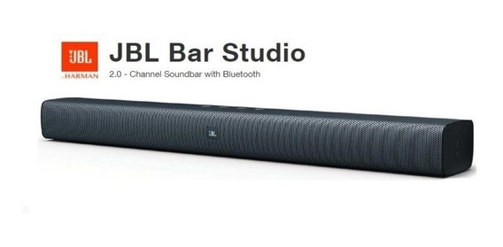 Home Theater Jbl Bar Studio, Bluetooth, Preto Pronta Entrega