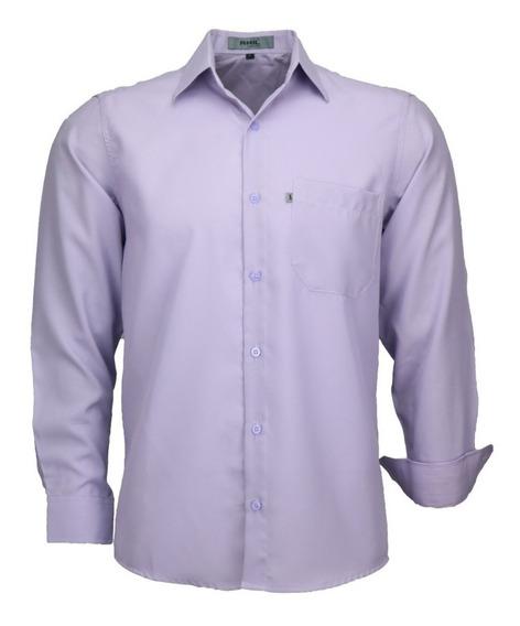 Camisa Social Masculina Facil De Passar Otimo Presente 832ml