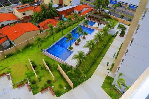 Apartamento Com 3 Dormitórios À Venda, 80 M² Por R$ 500.000,00 - Cambeba - Fortaleza/ce - Ap2065