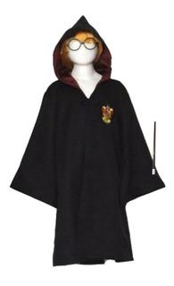 Disfraz Harry Potter Deluxe Con Lentes Y Varita