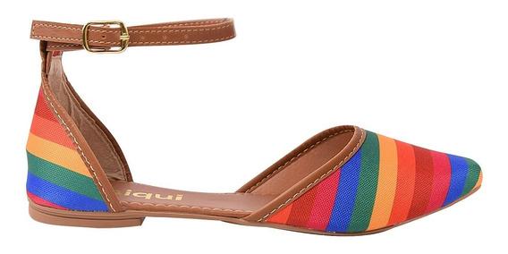 Sapatilha Sapato Feminina Chiquiteira Chiqui/5441
