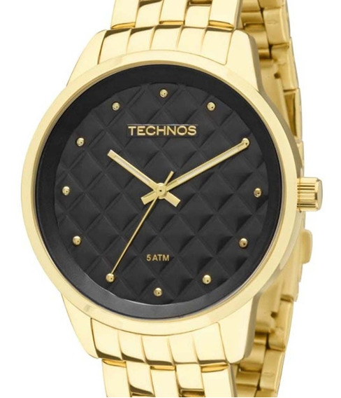 Relógio Technos Feminino Dourado Trend 2035lwm/4p C/ Nf-e