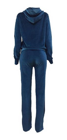 C/5 Conjunto Feminino Plush Calça E Blusa Frio Moletom