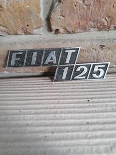 Insignia Original Fiat 125