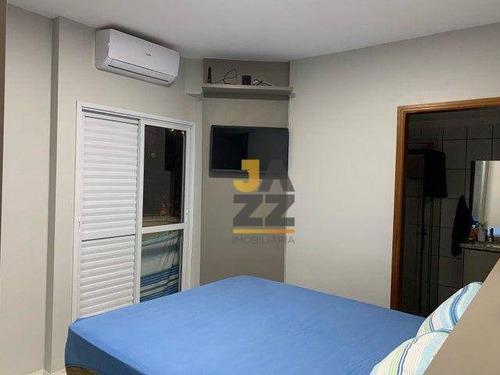 Imagem 1 de 6 de Apartamento Com 2 Dormitórios À Venda, 70 M² Por R$ 320.000,00 - Nova Aliança - Ribeirão Preto/sp - Ap7571