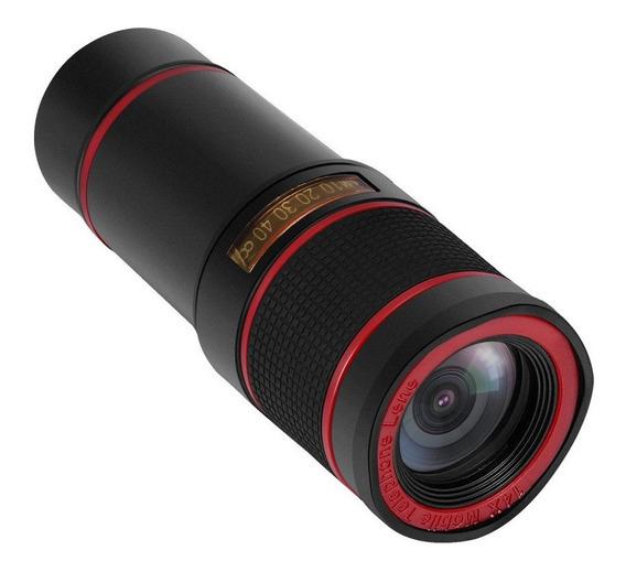 Telescópio 14x Optical Zoom Camera Lente Com Clipe Promoção!