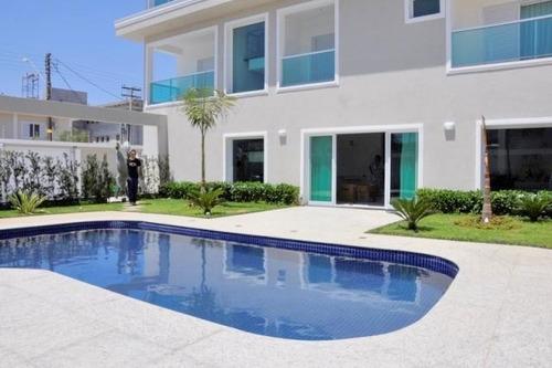 Casa Com 5 Dormitórios À Venda, 381 M² Por R$ 2.300.000,00 - Enseada - Guarujá/sp - Ca1469