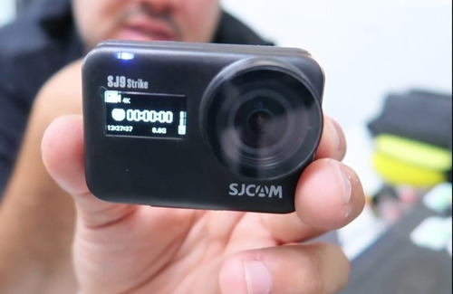 Sjcam Sj9 Strike Com Microfone Externo Original Dudacell