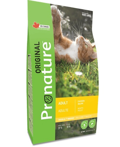 Pronature Alimento Para Gato Adulto 5 Kg Pollo Importado
