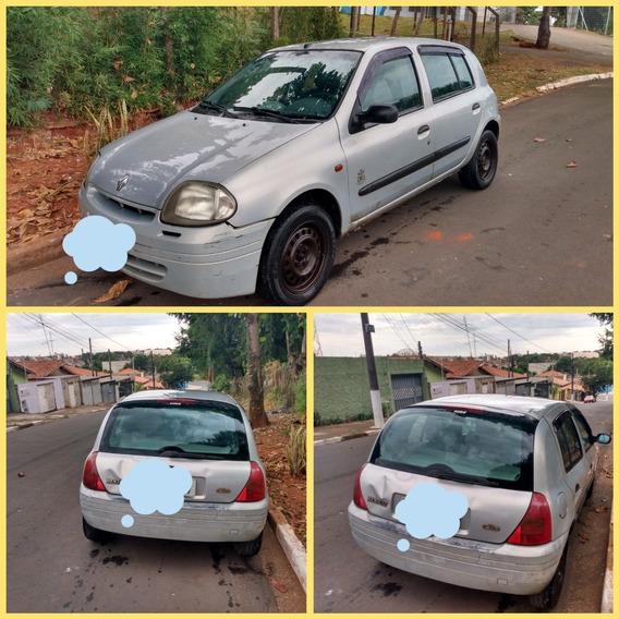 Renault Clio Ano 2000 Modelo 2001