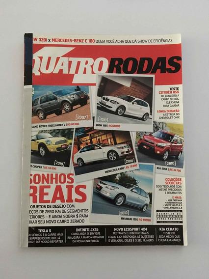 Revista Quatro Rodas - Janeiro 2013 - Nº 639 Land Rover Bmw