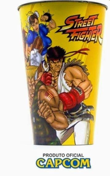 Copo Street Fighter Oficial Capcom Novo