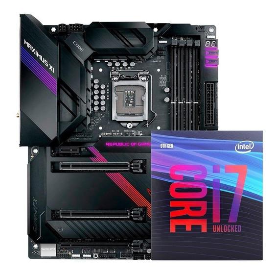 Kit Placa Asus Maximus Xi Code + Processador Core I7-9700k