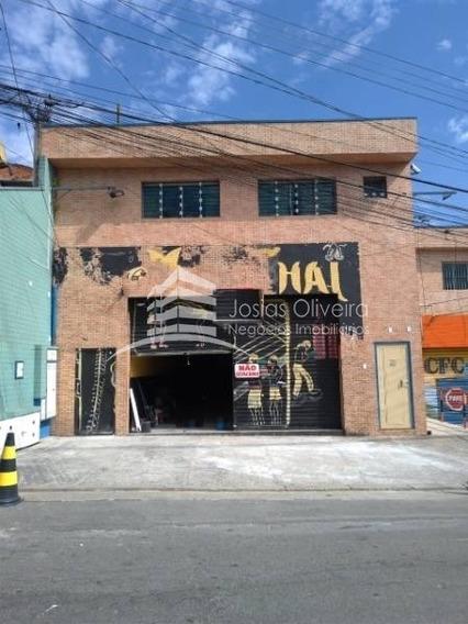 Salão Para Locação No Jordanópolis, Do Outro Lado Do Mac Donalds, Posto De Gasolina Com Caixa 24 Horas 3 Vagas, 135 M². - 252