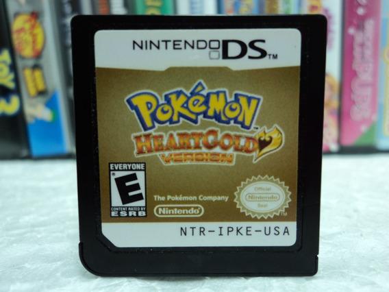 Pokémon Heart Gold - Nintendo Ds - Em Até 12x Sem Juros !!
