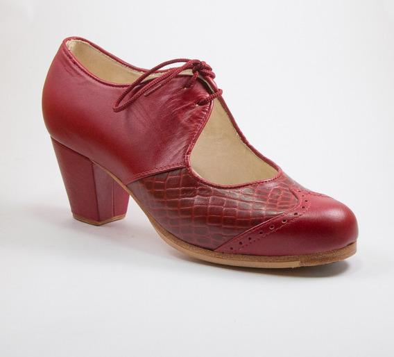 Excelentes Zapatos De Flamenco