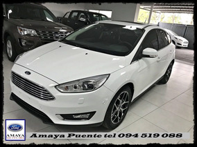 Ford Focus Modelo 2017 En Sus 3 Versiones Hacht Y Sedan