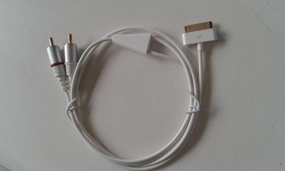 Kit 25 Cabo De Audio Dock Apple 2rca Est Original Geonav