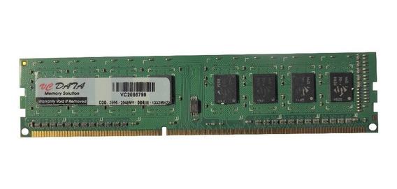 Memoria Desktop 2gb Ddr3 1333mhz Vcdata