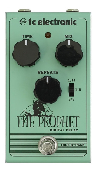 Pedal Tc Electronic The Prophet Digital Delay,promoção