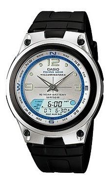 Relógio Casio Aw-82 3768 Fishing Gear Original Pul Borracha