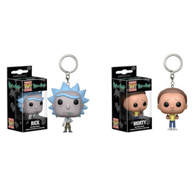 Kit Funko 2 Chaveiros - Rick E Morty - Funko Pop!