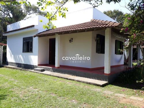 Casa Com 2 Dormitórios À Venda, 135 M² - Jacaroá - Maricá/rj - Ca3795