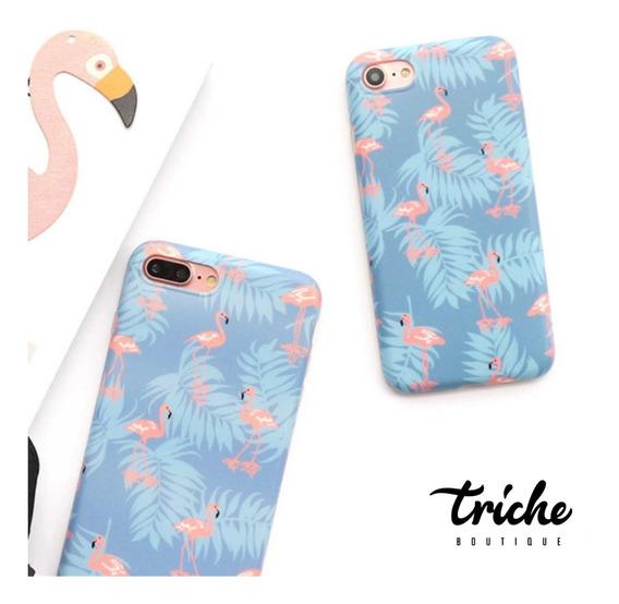 Funda Case Flamingo iPhone 6 6s 6+ 6s+ 7 8 7+ 8+ X Xs Max Xr