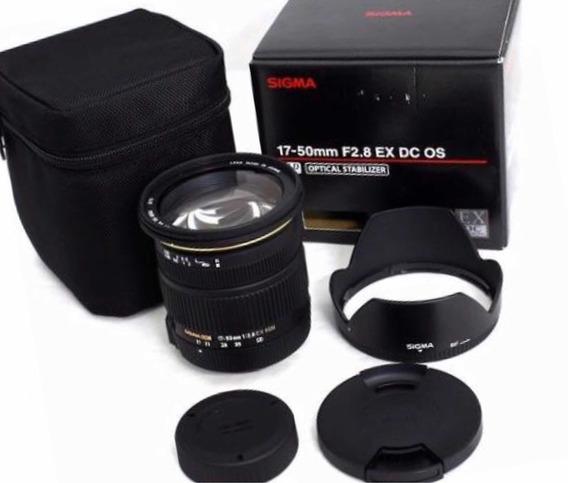 Lente Sigma 17-50mm F2/8 Ex Dc Os Hsm