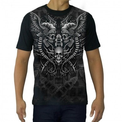 Camiseta Tattoo Especial Vikings Twins