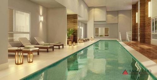Apartamento Com 3 Dormitórios À Venda, 116 M² Por R$ 690.000,00 - Baeta Neves - São Bernardo Do Campo/sp - Ap1719