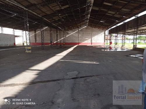 Galpão Para Alugar, 13479 M²$ -antônio Bezerra - Fortaleza/ceará - Ga0128